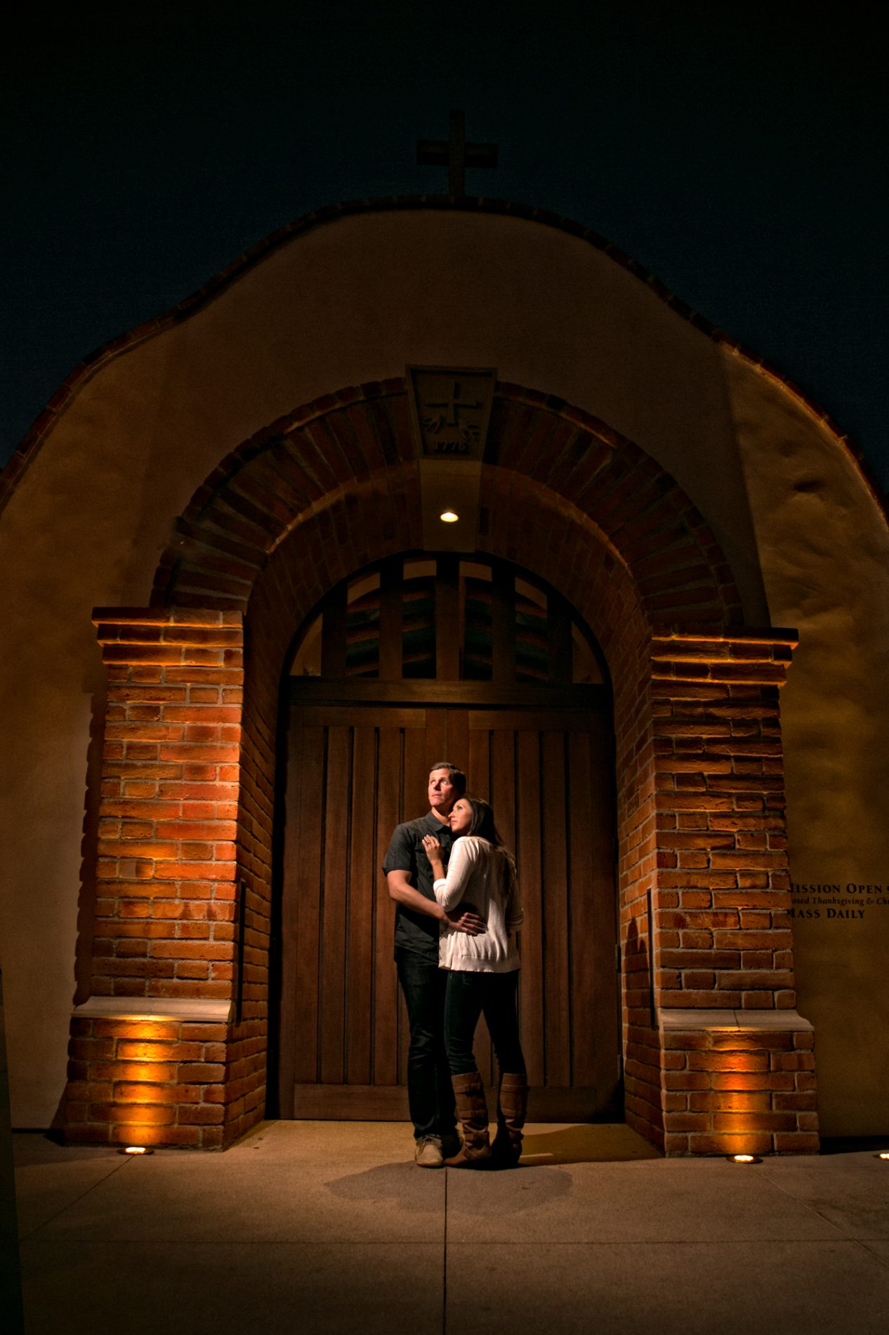 San Juan Capistrano , engagement photo shoot of Anala and Matt