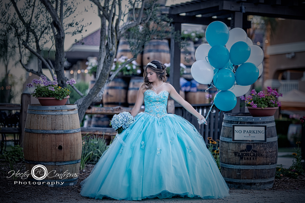 Quinceanera at Wilson creek winery ,